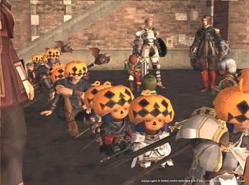 ハロウィン2003 2003/11/02 ハロウィン。街はかぼちゃ頭・コウモリ杖の人でいっ...