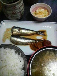 いわしの煮物
