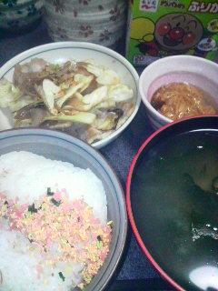 豚肉とキャベツの炒めもの
