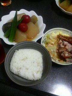 冷たい煮物