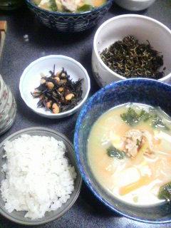 キムチ鍋風