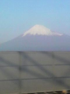 今年最後の富士山