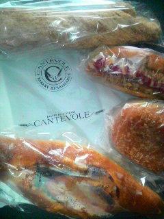 カンテボーレのパン