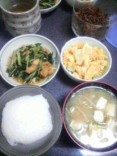 水菜の煮物