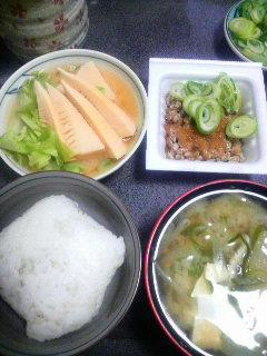 タケノコの味噌煮
