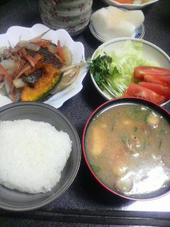 牛肉と野菜の炒めもの