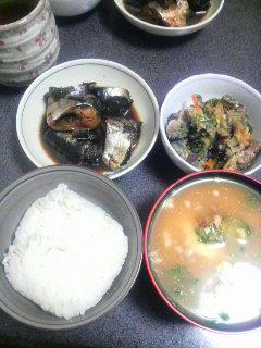 秋刀魚の松前煮
