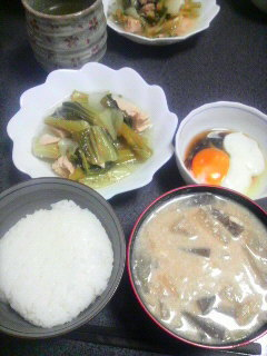 ブロッコリーとツナの煮物