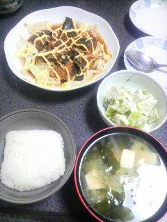 さば味噌缶詰の白菜マヨネーズ焼き