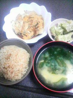 鶏肉と玉子の炒め煮