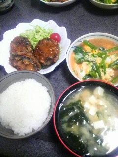 茄子の肉挟み天ぷらあんかけ