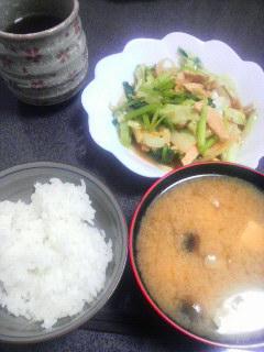 ささみ野菜炒め