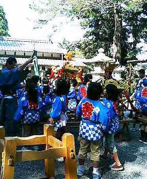 藁園神社例大祭