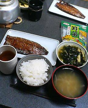 今日の夕食 20070416