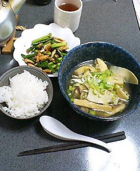 今日の夕食 20070417