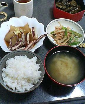今日の夕食 20070506