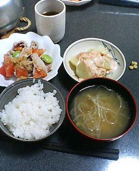 今日の夕食 20070508